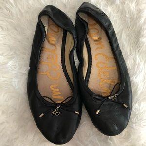 Sam Edelman Black Ballet Flats